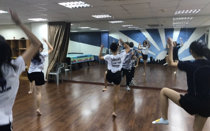 HOW TO Concept Video - the team dance practice