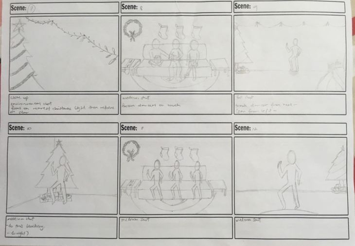 HOW TO Concept Video - the team storyboard